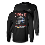 Black Chevrolet Power Performance Domination T-Shirt