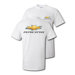 Gold Bowtie Racing White T-Shirt