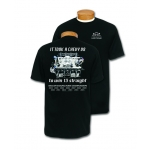 Black Chevy V8 to Win 13 Straight T-Shirt