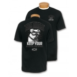 Big Dog American Bulldog Black T-Shirt