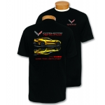 Black Corvette Racing Reflective T-Shirt