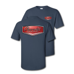 Blue Dusk Chevrolet Racing Hood Ornament T-Shirt