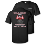 Fuel Injected Supercharged Power LSA Black T-shirt
