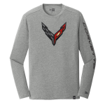 New Era Corvette Carbon Flash Grey T-Shirt