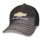 Blk Carbon Fiber Fade Gold BT Racing Cap