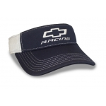 Navy/ White Perf Fabric Open BT Racing Visor