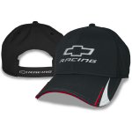 Blk Perf Fabric Open BT Racing Cap