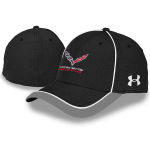 Under Armour Corvette Racing Cap Black/White L/XL