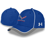 Under Armour Corvette Racing Cap Royal/White M/L