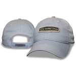 Light Blue Cap w/ Open BT Racing. Velcro