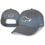 Grey Cap w/ Chrome Chevrolet flowtie & ZL1