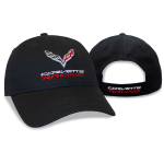Black Corvette racing cap