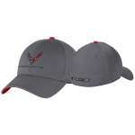 New Era® L/XL Charcoal/Red Corvette Next Gen Interception Cap