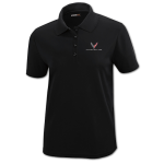 Women's Black Corvette Next Gen Core365 Polo