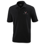 Men's Black Corvette Next Gen Core365 Polo