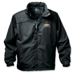 Chevy Racing Black Jacket w/Hood