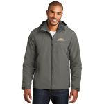 Grey/Grey 3-IN-1 Chevrolet Racing Jacket