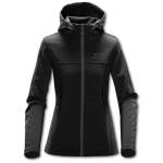 Ladies Stormtech Black Orbiter Softshell