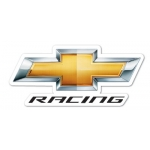 "Chevrolet Racing 3"" Decal"