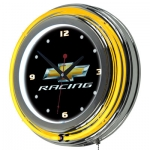 Chevrolet Racing Neon Clock
