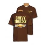 Chevy Trucks Brown T-Shirt