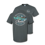 Dark Heather  Classic Chevy Trucks. Repair Service Parts Quality T-Shirt