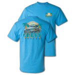 Chevy Trucks Paradise Heather Sapphire T-Shirt