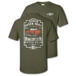 American Original Speed Shop Military Green T-Shirt