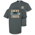 Chevy Trucks Since 1918 Dark Heather T-shirt
