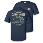 Classic Legend Vitage Steel Navy T-shirt