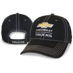 Black Chevrolet Trucks Twill Cap