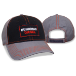 Black/Grey Cotton Twill Duramax Diesel Cap