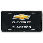 Silverado Gold BT License Plate
