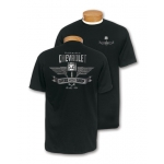 Mr. Crosswrench Black Speed Shop T-shirt