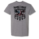 Chevrolet Performance Crosswrench Flag. Graphite Heather