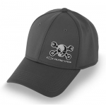 Mr. Crosswrench Grey flex fit Hat