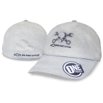 Grey Fitted One Touch Mr. Crosswrench Hat