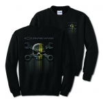 Mr. Crosswrench Black Crewneck