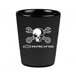 Mr. Crosswrench Carbon Fiber Shot Glass