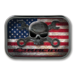 Mr. Crosswrench American Flag Belt Buckle