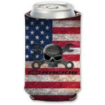Mr. Crosswrench American Flag Can Holder