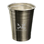 Mr. Crosswrench Silver Party Cup