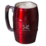 Mr. Crosswrench Red Barrel Mug