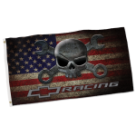 Crosswrench Distressed American Flag