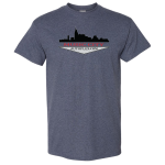 Dealer Personalized Heather Navy T-shirt