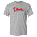 Dealer Personalized Sport Grey T-shirt