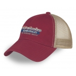 Dealer Pesonalized Maroon Mesh Hat