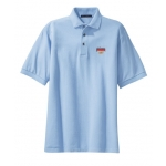 Dealer Personalized Light Blue Polo