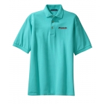 Dealer Personalized Turquoise Polo