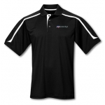 Dealer Personalized Black/White Ultracool Polo